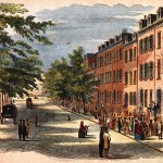 Bond Street in 19th century New York City