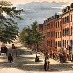 Bond Street in 19th century New York City