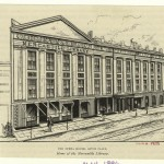 Mercantile Library in 19th century New York City