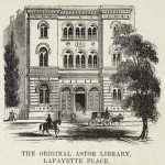 Astor Library in 19th century New York City