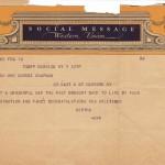 Telegram, 1936
