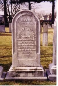 Seabury Tredwell Grave