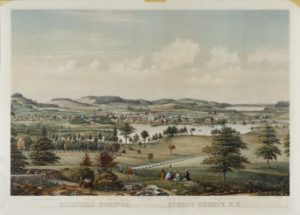 Richfield Springs, Otsego County, NY, 1865 (Albany Institute of History and Art)