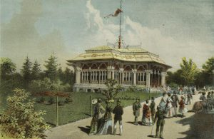 Mineral Water Pavilion, 1869 (New York Public Library)