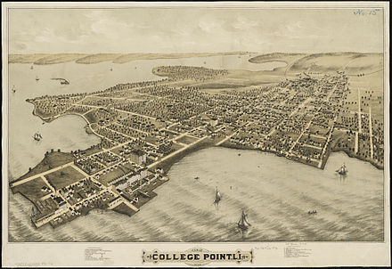 College Point, Long Island, 1876. (Wikipedia.com.)