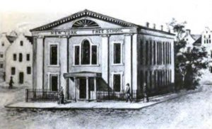 New York Free School Society, 1809. (http://images.google.com).