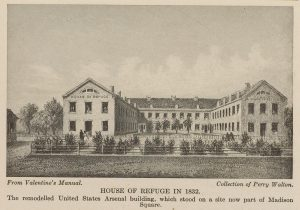 First Home of the House of Refuge, 1832. (http://images.google.com).
