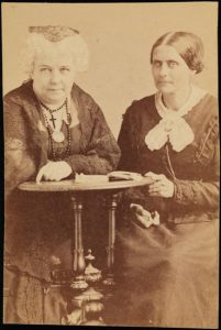 Elizabeth Cady Stanton and Susan B. Anthony, 1866-1871 (MCNY)