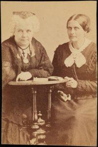 Elizabeth Cady Stanton and Susan B. Anthony, 1866-1871 (MCNY)