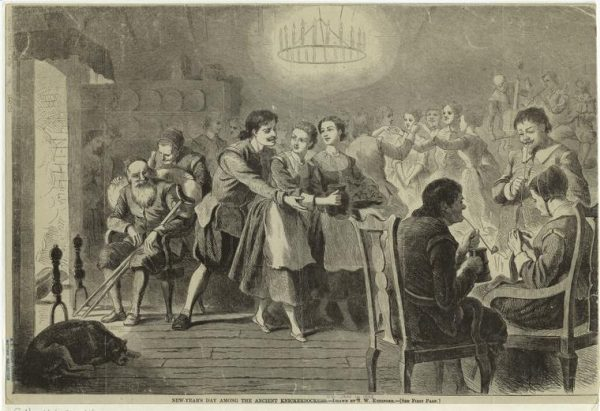 """New Year's Day Among the Ancient Knickerbockers,"" Digital Collections, NYPL."