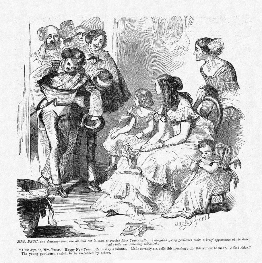 F.O.C. Darley. Mrs. Pegu, 1859. www.harpweek.com.