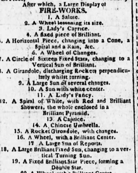 The Evening Post, Monday, June 24, 1805 (click to enlarge)