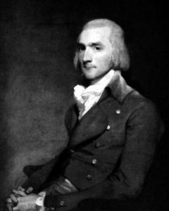 John Jacob Astor, photogravure after painting by Gilbert Stuart.