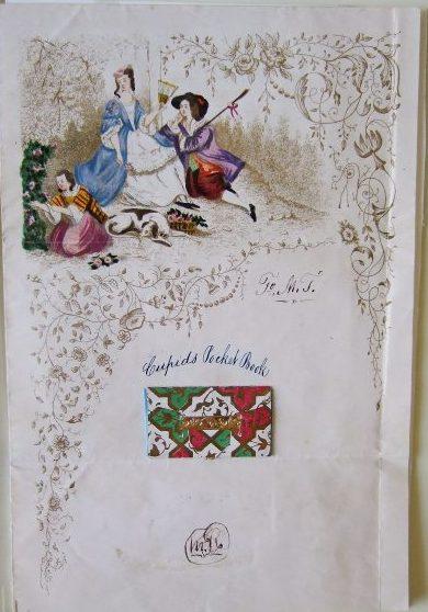 Valentine, 1847.  MHM 2002.4606.44.