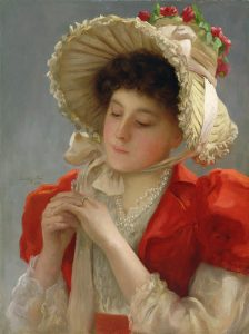 John Shirley Fox. The Engagement Ring, 1898.