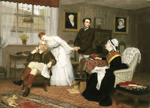 James Hayllar. The Only Daughter, 1875