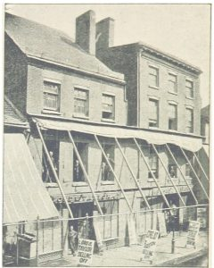 Lord and Taylor, original store, Catherine Street, 1834-1854.