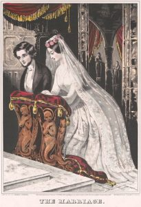 Sarony & Major. The Marriage, 1846.