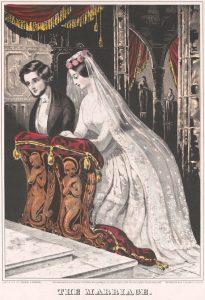 Sarony & Major. The Marriage, 1846.