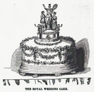 Queen Victoria's Wedding Cake, 1840.