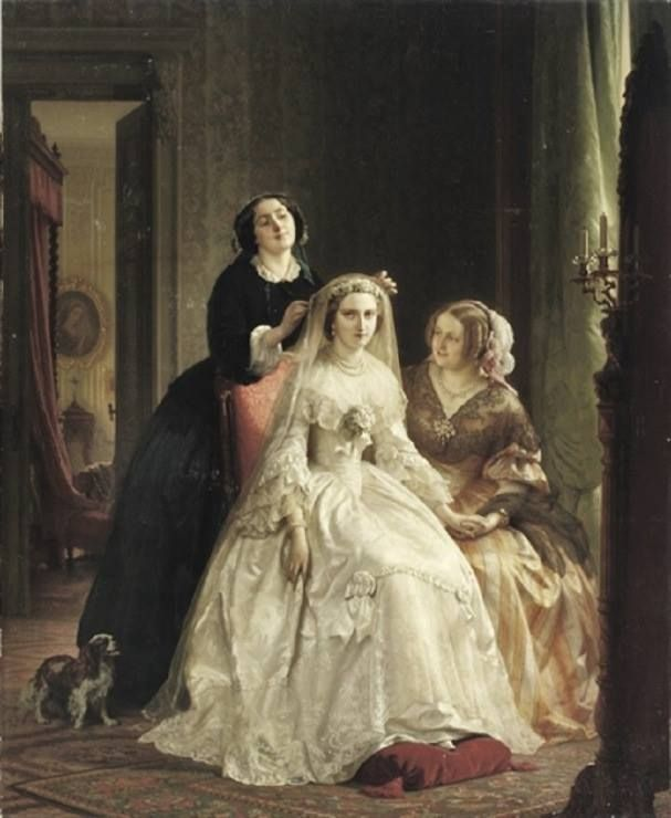 Josephus Laurentius Dyckmans. The Bride, 1858.