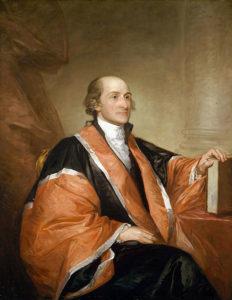 John Jay, by Gilbert Stuart, 1794.