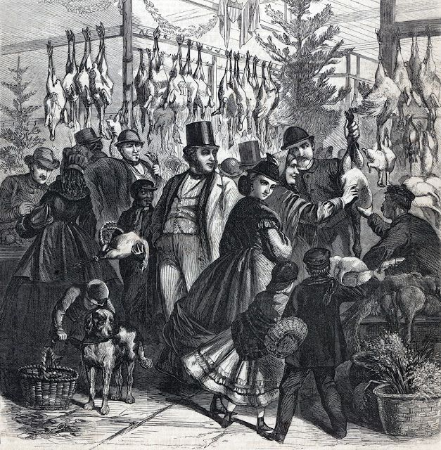 """Buying the Christmas Turkey,"" Frank Leslie's Illustrated Newspaper, December, 1865."