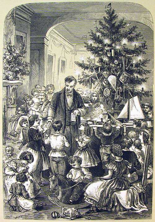 """The Christmas Tree,"" by F.A. Chapman"