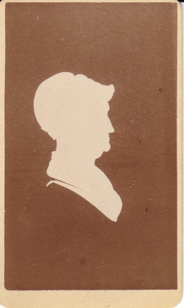 Silhouette of Elizabeth Seabury Tredwell, MHM 2002.0327