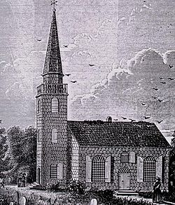 St. George's Episcopal Church, Hempstead, NY, c. 1734