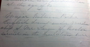 Gertrude Tredwell's Notes on Her Grandfather William Parker. Nichols Papers N-YHS