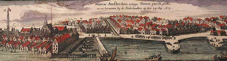 Nieuw Amsterdam, 1673.