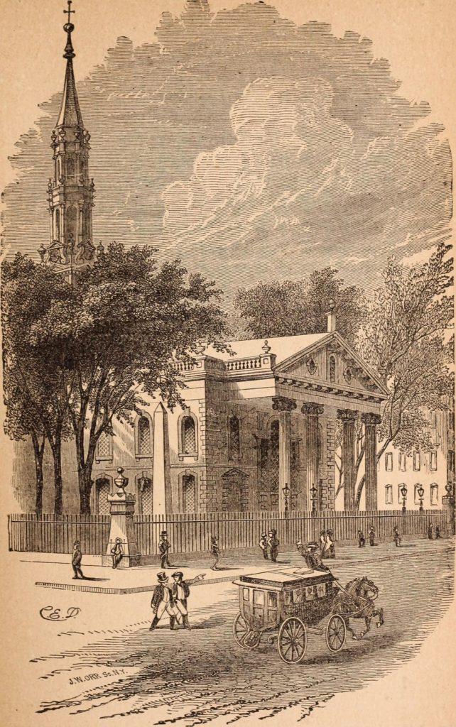 St. Paul's Chapel, Trinity Church Parish