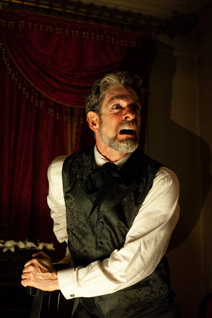 John Kevin Jones in Killing An Evening With Edgar Allen Poe