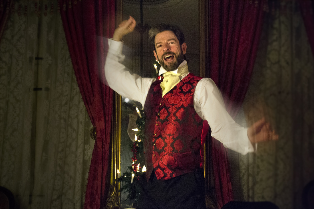 John Kevin Jones in A Christmas Carol at the Merchant's House